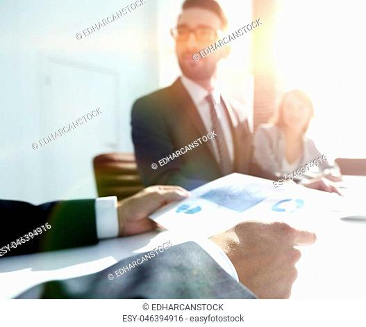 background image . business team at a Desk .business background