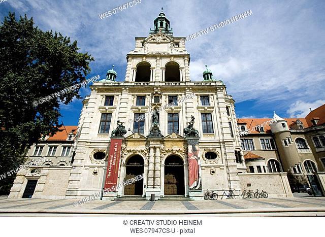 Germany, Bavaria, Munich, Bavarian National Museum