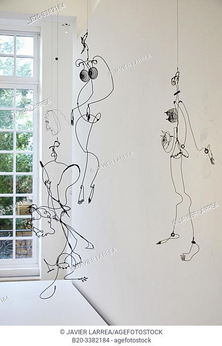 """Joséphine Baker IV"", 1928, Alexander Calder, Picasso Museum, Paris, France, Europe"