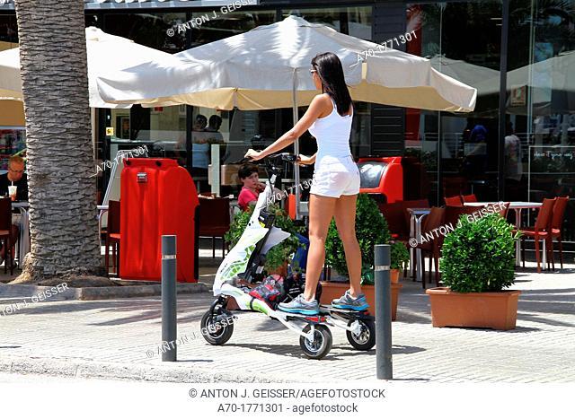 Spain , balearic island , street vehicle