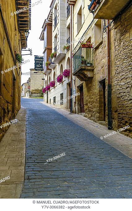 La Puebla de Labarca. Rioja Alavesa, Álava, Basque Country, Spain