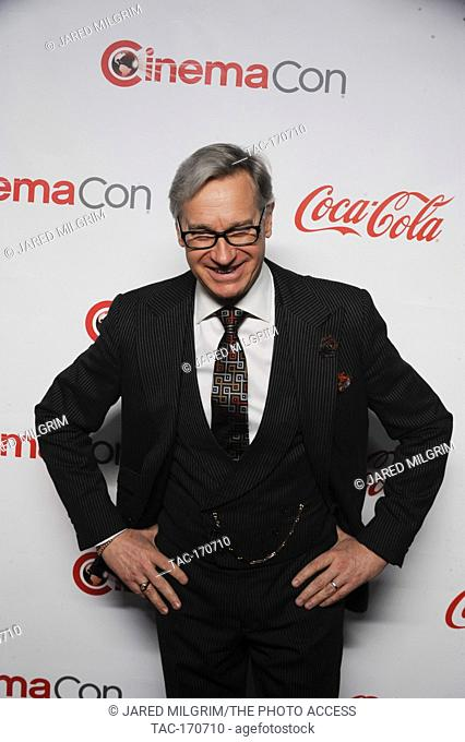 Director Paul Feig arrives for the 2019 CinemaCon Big Screen Achievement Awards at Omia nightclub at Caesars Palace in Las Vegas on April 4, 2019