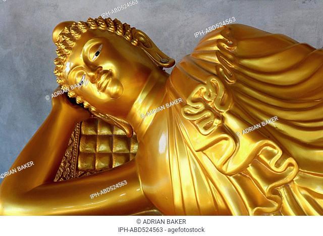 Thailand Phuket Buddha statues at the Big Buddha of Phuket