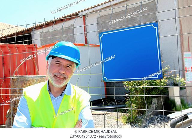Security rules on building site