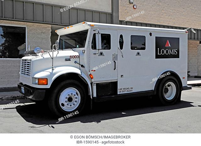 American armored car, Route 66, near Seligman, Arizona, USA, North America