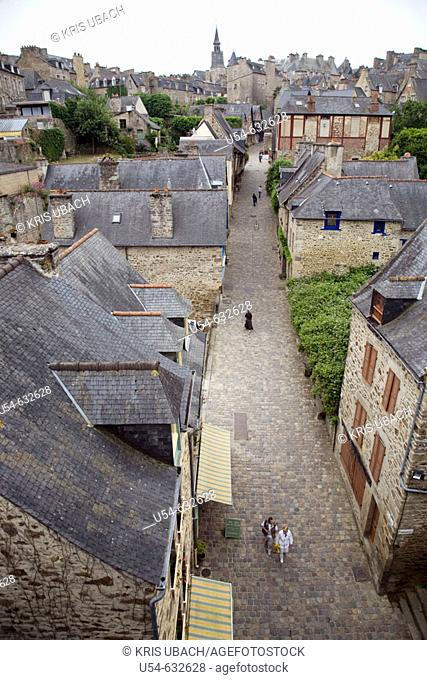 Dinan. Haute Bretagne. France