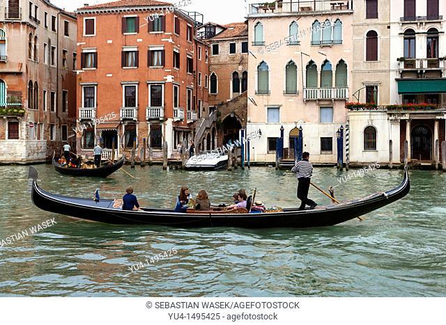 Canale Grande, Venice, Veneto, Italy, Europe