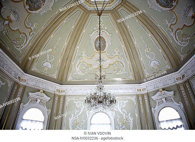 Great Palace 1710-1727, architects Domenico Fontana, Johann Braunstein and Gottfried Schedel, Oranienbaum Lomonosov, near Saint Petersburg, Russia