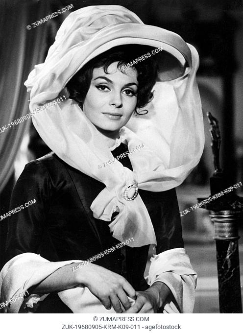 Sep. 5, 1968 - Paris, France - Actress MICHELE MERCIER at Lady Hamilton in a scene from the film, 'Angelique.' (Credit Image: © Keystone Press Agency/Keystone...
