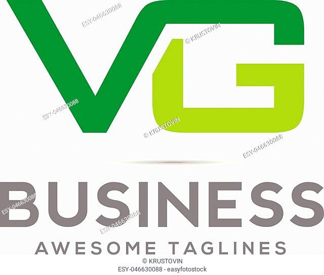 VG letter logo design, initial logo design, letter logo design, VG letter combination logo concept