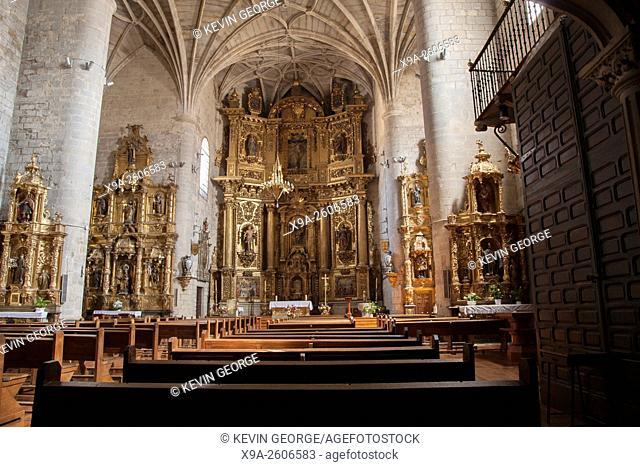 Parish Church of Santiago and San Pedro, Puente de la Reina, Navarra, Spain