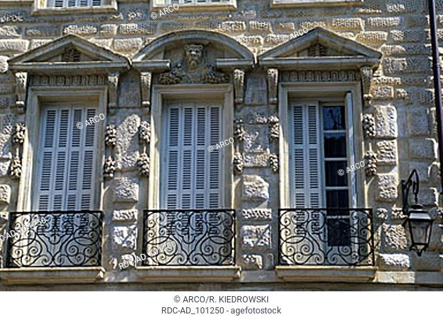 Windows Maison Milsand Dijon Cote d'Or Burgundy France