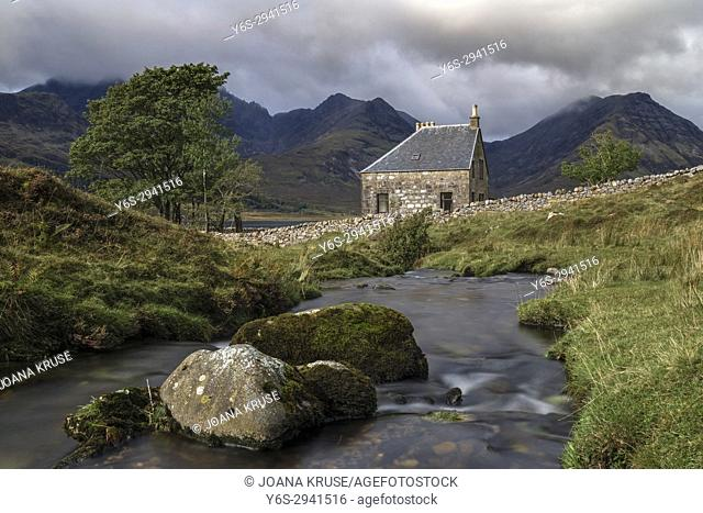Loch Slapin, Black Cuillin, Isle of Skye, Scotland, United Kingdom