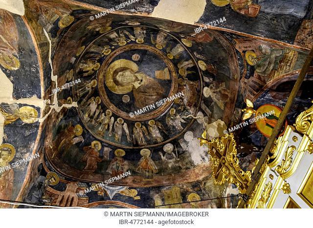 17th century frescoes, Church of St. George, Sveti ?or?e, Podgorica, Montenegro