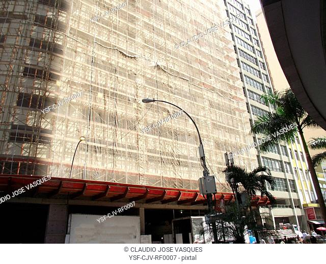 Construction, building, Rio de Janeiro, Brazil