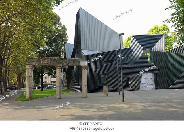 Germany, Mainz, 08.09.2014 The New Synagogue Mainz since September 3, 2010, in succession to former synagogues in Mainz. It stands as a community center on the...