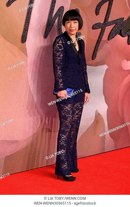 The Fashion Awards 2016 held at the Royal Albert Hall - Arrivals Featuring: Angelica Cheung Where: London, United Kingdom When: 05 Dec 2016 Credit: Lia...