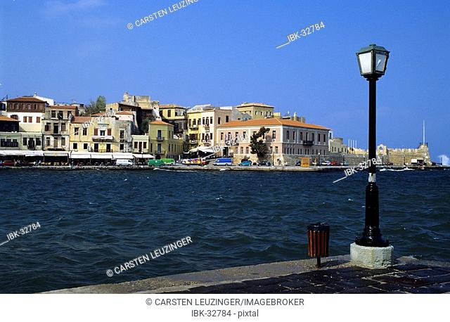 Harbour of Chania, Crete, Greece