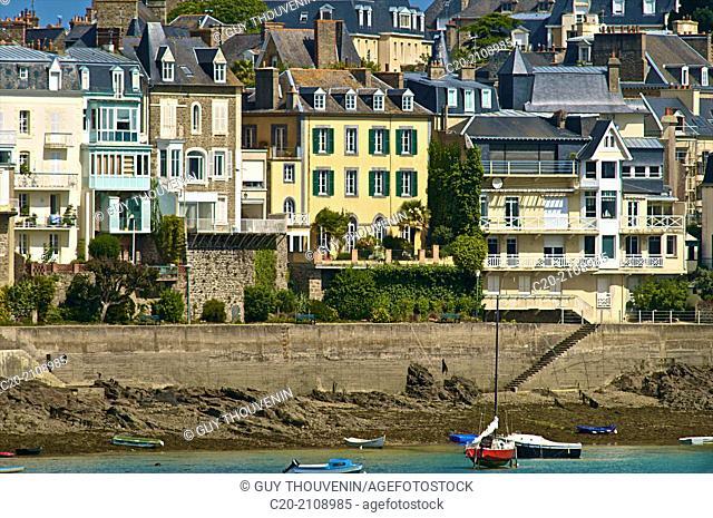 Promenade au Clair de Lune, Dinard, Brittany, Ille et Villaine 35, France