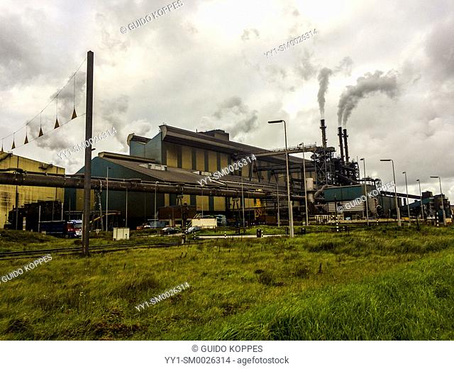 North-West Europe. Huge, heavy industry terrain, producing various kinds of steel inside an old, CO2 emmitting environment
