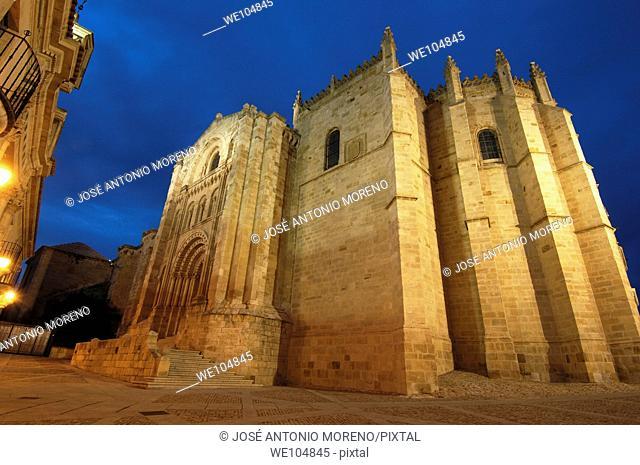 Cathedral, Zamora, Castilla-Leon, Spain
