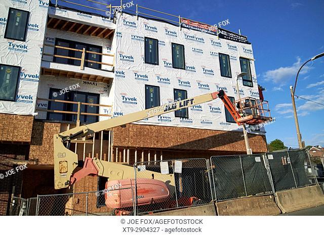 apartments under construction savin hill ave Boston USA