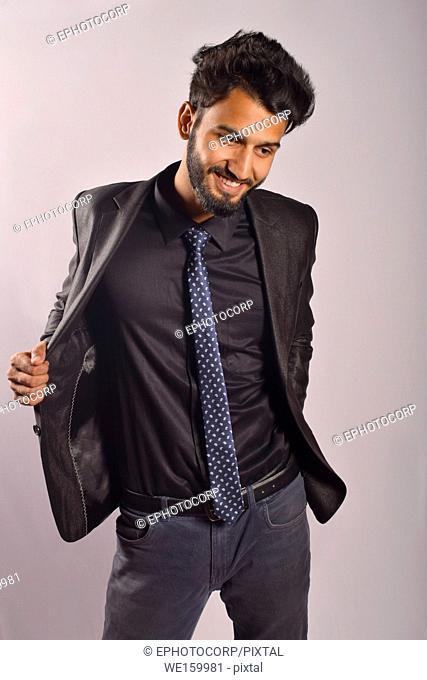 Young male model posing, Pune, Maharashtra