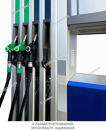 Gasoline Nozzles Cutout