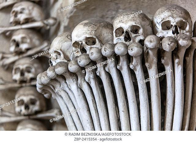 Sedlec Ossuary, Kutna Hora, UNESCO town, Czech Republic