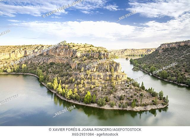 Natural Park of Hoces del Río Duratón, Segovia, Spain