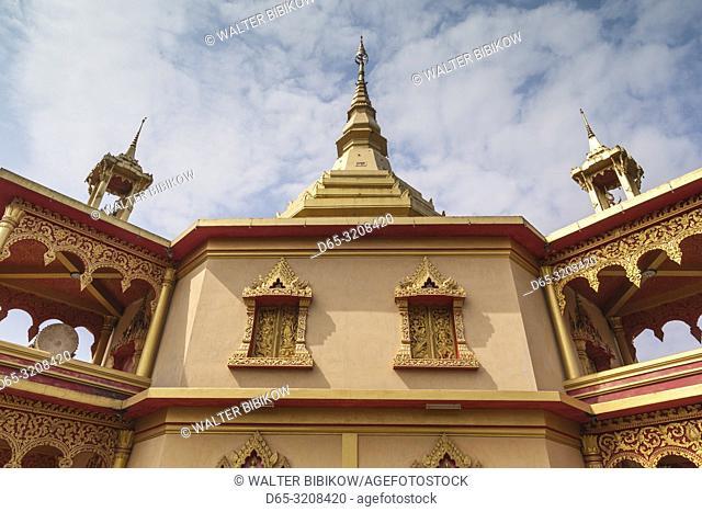 Laos, Luang Prabang, Santi Chedi, Peacfulness Pagoda, exterior