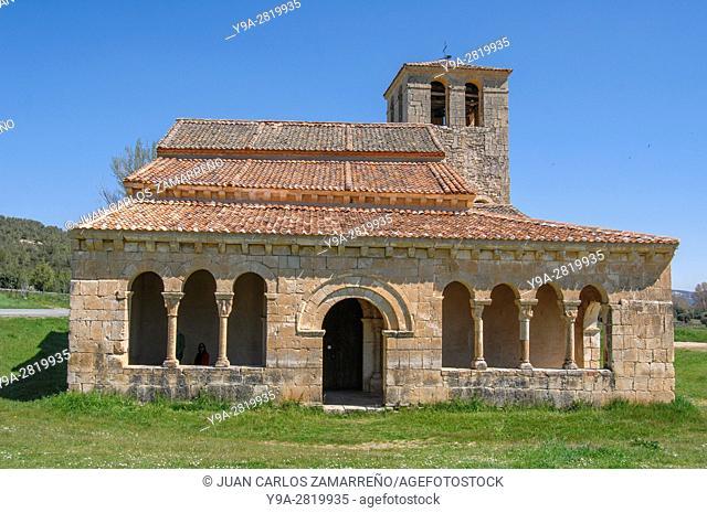 Ermita de Nuestra Senora de Las Vegas, romanesque church, medieval, Requijada, Santiuste de Pedraza, Segovia, Castilla y Leon, Spain