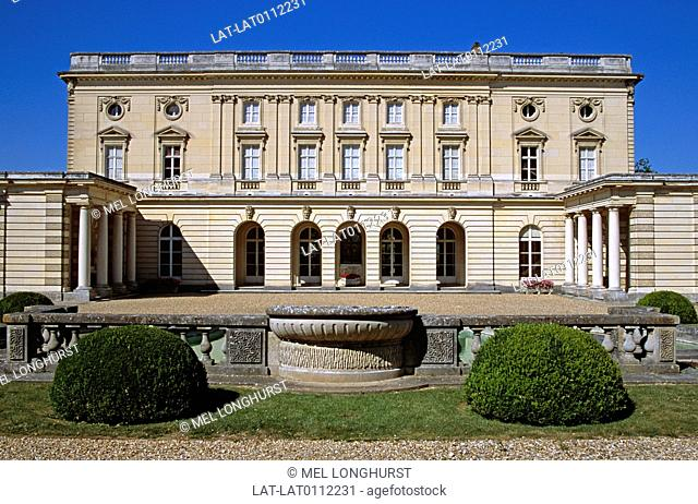 The Chateau de Bizy is a 19th century house built on the site of an earlier chateau which was destroyed in the French revolution