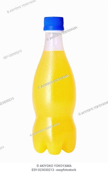 fruit juice in a bottle