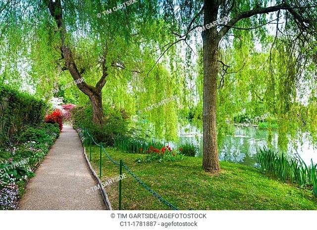 Monet's garden, Giverny, Normandy, France, Eure, Europe