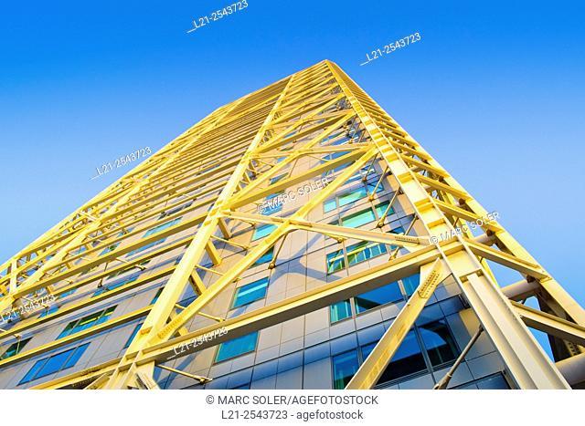 Hotel Arts. Designed by Skidmore, Owings & Merrill. Vila Olimpica, Port Olimpic, Barcelona, Catalonia, Spain