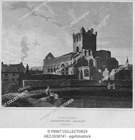 'South East View of Jedburgh Abbey. Roxburghshire', 1814. Artist: John Greig