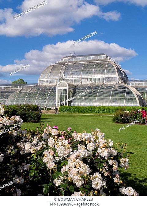Kew Gardens Palm House in London