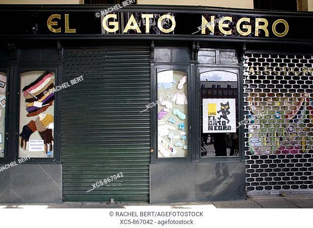 Shop, Plaza Mayor, Madrid, Spain
