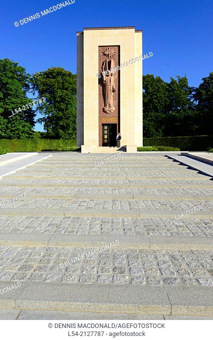 Chapel Luxembourg American Cemetery and Memorial Europe