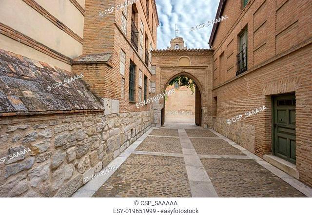 Entrance of Santa Clara Convent in Tordesillas