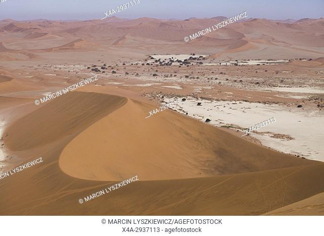 View on Namib desert near Soussuvlei, Namib-Naukluft National Park, Namibia