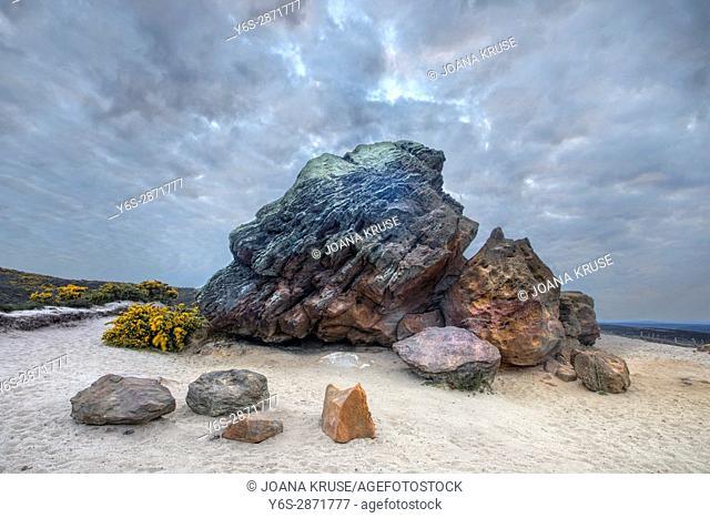 Agglestone Rock, Purbeck, Studland, Dorset, England