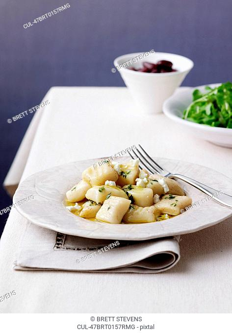 Dish of vegetables