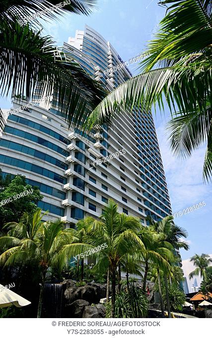 Hilton Kuala Lumpur hotel, Malaysia, South East Asia