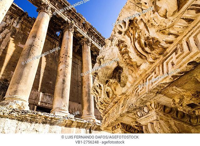 Roman ruins at Baalbelk, Lebanon
