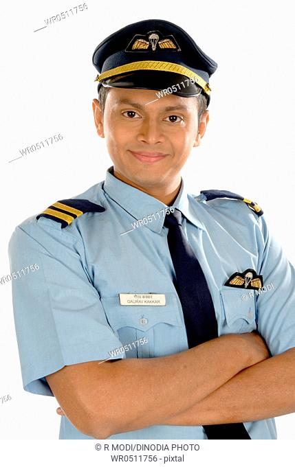 Pilot in uniform MR782W