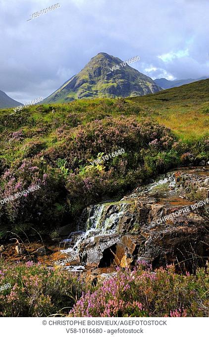 Great Britain, Scotland, West Highland Way, Glen Coe region