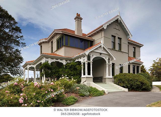 New Zealand, South Island, Canterbury, Timaru, Aigantighe Art Gallery, exterior