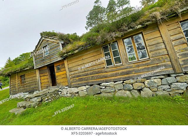 The Liabygd House, Open-air Museum, Sunnmore Museum, Alesund, Norway, Scandinavia, Europe